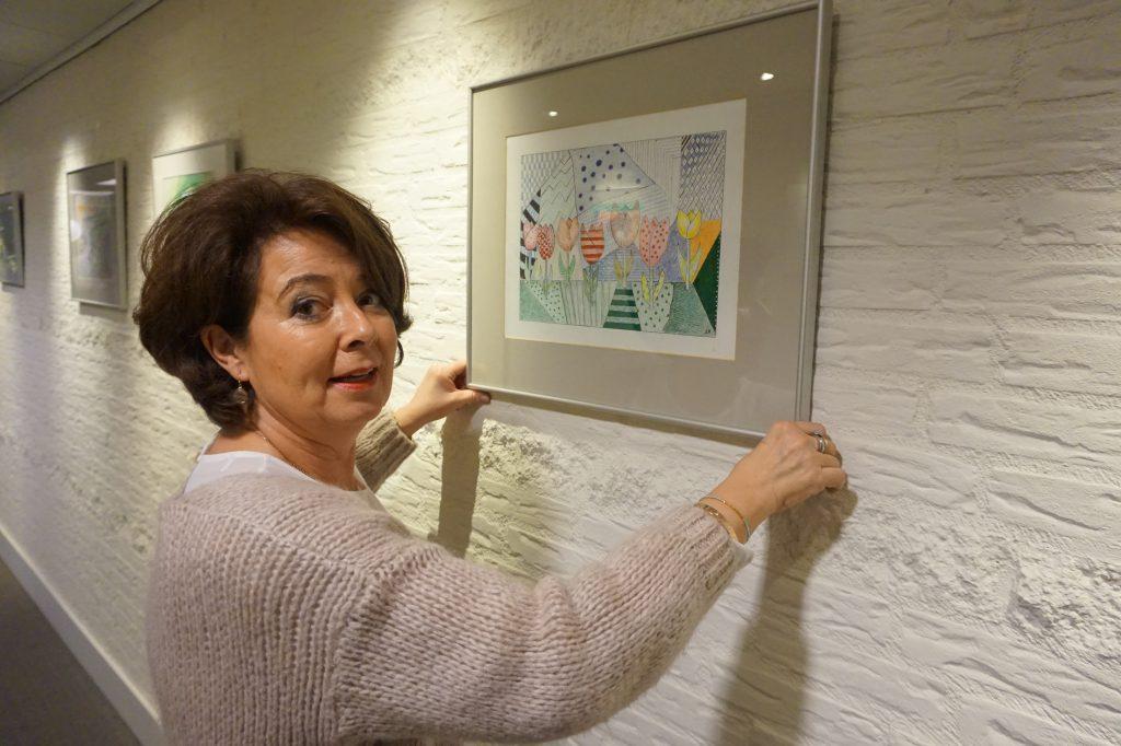 Schilderles met Desirée Leijs–Bruglemans bij Residentie Molenwijck