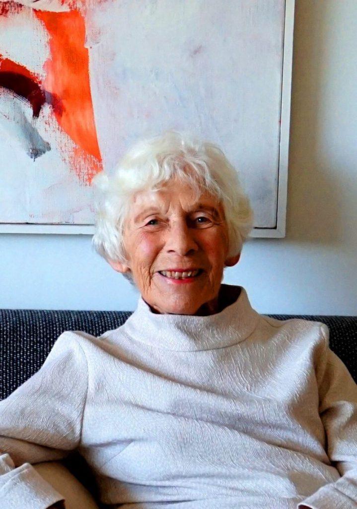 Bewoner Mieke Eggermont, oud-burgemeester van Haaren verhuisde naar Residentie Molenwijck in Loon op Zand.