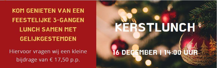 Kerstlunch voor belangstellenden bij Residentie Molenwijck in Loon op Zand